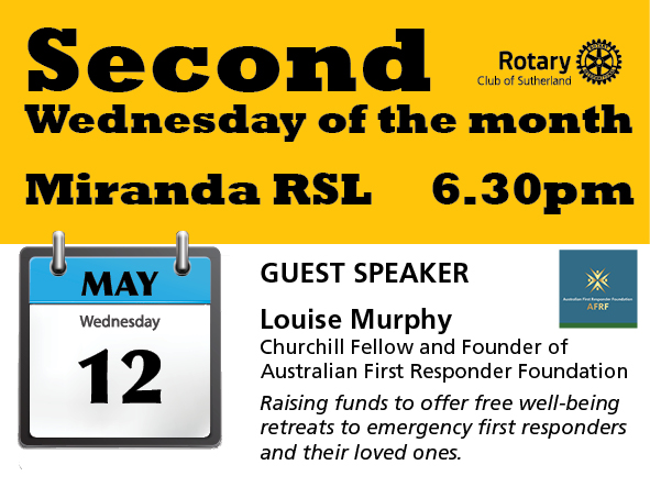 Meeting 12th May - Louise Murphy
